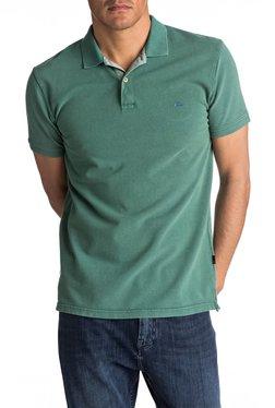 Quiksilver Green Short Sleeves Polo T-Shirt