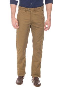 3d7d521e60ea Ruggers Khaki Mid Rise Regular Fit Trousers
