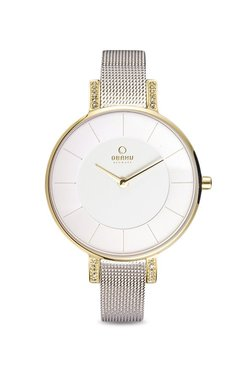 OBAKU V158LEGIMC Lun Gold-bi Analog Watch For Women