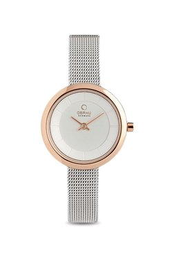 OBAKU V146LXVIMC Stille Rose-bi Analog Watch For Women