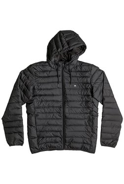 Quiksilver Black Quilted Full Sleeves Jacket
