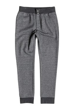 Quiksilver Grey Regular Fit Mid Rise Joggers