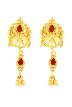 Malabar Gold And Diamonds 22 Kt Earrings