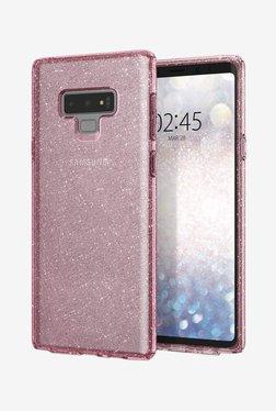 Spigen 599CS24571 Liquid Crystal Glitter Case For Samsung Galaxy Note 9 (Rose Quartz)