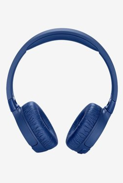 JBL Tune 600 BTNC On the Ear Wireless Bluetooth Noise Canceling Headphones (Blue)