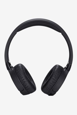 JBL Tune 600 BTNC On the Ear Wireless Bluetooth Noise Canceling Headphones (Black)
