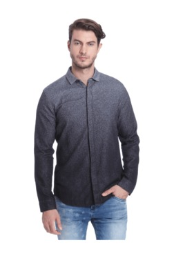 Jack & Jones Grey Slim Fit Cotton Shirt