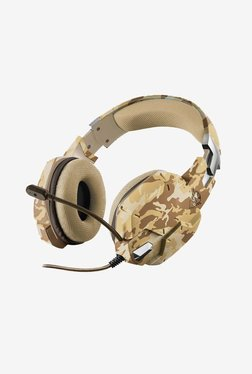 Trust Carus GXT 322D Over The Ear Gaming Headphone (Desert Camo)