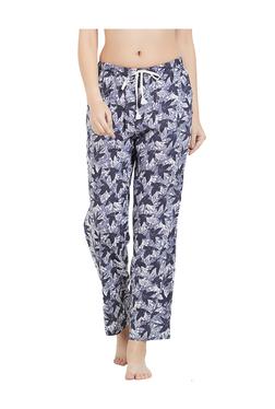 Blush By PrettySecrets Navy Printed Pyjamas