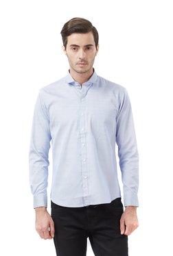 Deezeno Blue Striped Full Sleeves Shirt