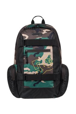 5e0021d04b DC The Breed Green & Brown Camouflage Laptop Backpack