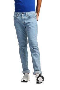 Levi's 511 Light Blue Slim Fit Low Rise Jeans