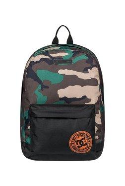 e7e76d0650e1 DC Backstack Cb Brown   Green Camouflage Laptop Backpack