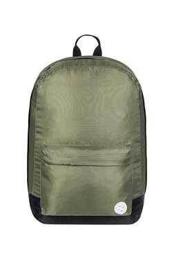 DC Backstack Fabri Green Solid Polyester Laptop Backpack 8c783fe6a3e19