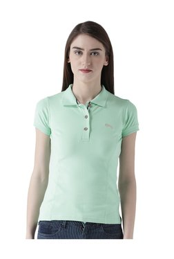 Jump USA Green Short Sleeves Polo T-Shirt