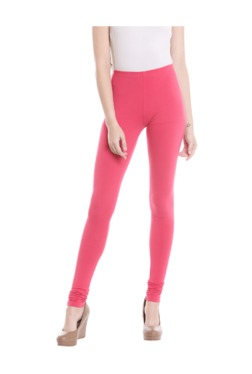 Fusion Beats Pink Cotton Leggings
