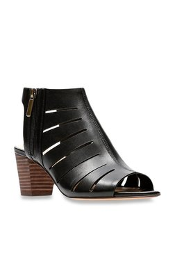 810de17fb Clarks Deloria Ivy Black Back Strap Sandals
