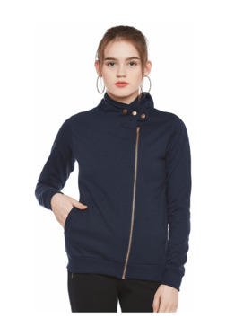 The Vanca Navy Fleece Jacket