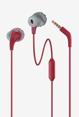 7c7837baec6 JBL Endurance RUN Sweatproof Sports Earphones with One-Button Remote and  Microphone (Red)