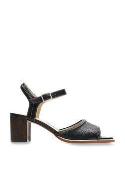 a2e2b06e360 Clarks Ellis Clara Black Ankle Strap Sandals