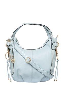 Globus Ice Blue Riveted Hobo Shoulder Bag - Mp000000003617962
