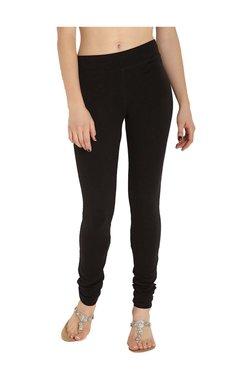Soch Black Slim Fit Cotton Lycra Leggings - Mp000000003632864