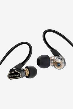 CrossBeats Fusion Dual Driver Wireless Earphones (Black)