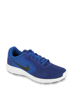 90b8c8d00f1b Nike Revolution 3 Blue Running Shoes