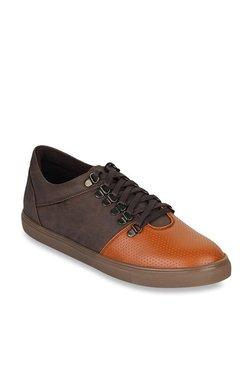 Bruno Manetti Tan & Brown Sneakers