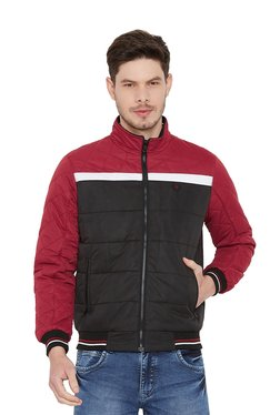 Duke Black Quilted Full Sleeves Jacket