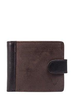 Hidesign 276-2020 Sb Brown Solid Rfid Bi-Fold Wallet