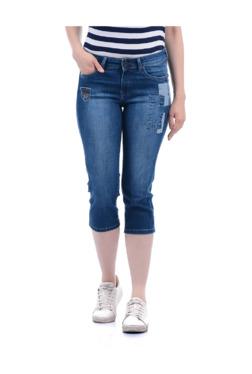 625cac20d92 Buy Pepe Jeans Capris - Upto 70% Off Online - TATA CLiQ