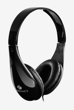 Zebronics 2100HMV Over The Ear Wired Headphone With Mic (Black)
