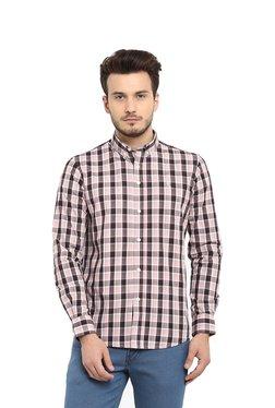 9957410d03753 Red Tape Peach Regular Fit Cotton Shirt