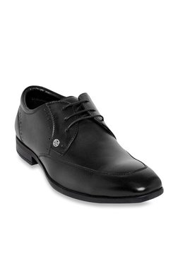 9ebff1da49e Duke Black Derby Shoes