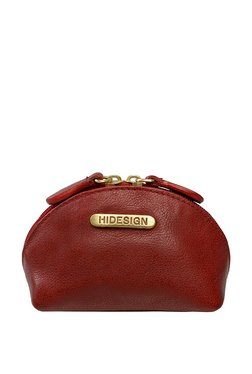 6d562503bc Hidesign H5 Brick Red Solid Leather Pouch