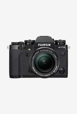 Fujifilm XT3 (18-55mm Lens) DSLR Camera + Camera Bag (Black)