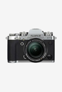 Fujifilm XT3 (18-55mm Lens) DSLR Camera + Camera Bag (Silver)