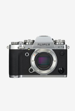 Fujifilm XT3 DSLR Camera Body Only + Camera Bag (Silver)