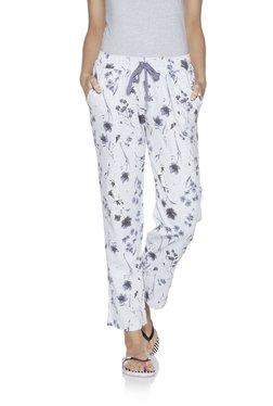 58403c03b8aaf Wunderlove by Westside Light Grey Floral Print Pyjamas