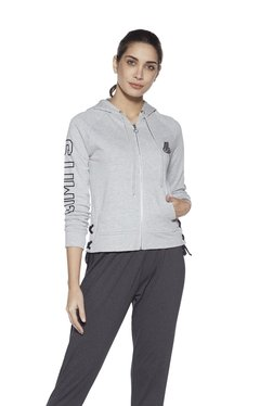 6ebd726286c Studiofit by Westside Grey Pure Cotton Jacket