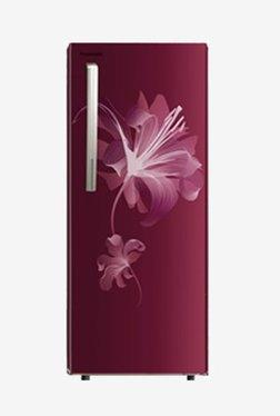 Panasonic NR-AC21ST2X1 202 L 3 Star Direct Cool Single Door Refrigerator (Maroon Single Flower)
