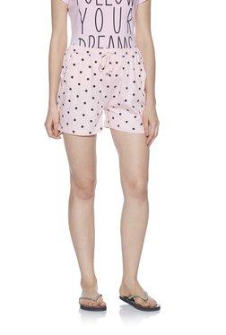 75866ebbe Zudio Pink Polka Dotted Cotton Shorts
