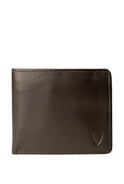 Hidesign L106 N Dark Brown Solid Rfid Bi-Fold Wallet