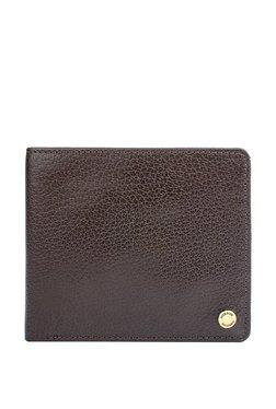 Hidesign 036-02 Sb Dark Brown Solid Rfid Bi-Fold Wallet