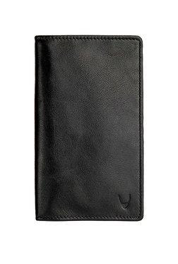 Hidesign 277 F031 Sb Black Solid Rfid Bi-Fold Passport Wallet