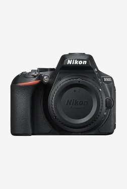 Nikon D5600 DSLR Camera Body Only 16GB Card + Camera Bag (Black)