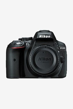Nikon D5300 DSLR Camera Body Only 16GB Card + Camera Bag (Black)