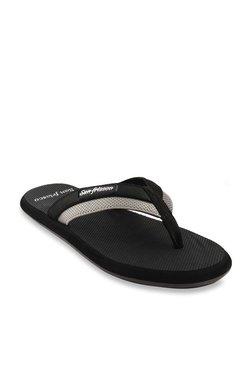 0cbf042b96185 San Frissco Black   Light Grey Flip Flops