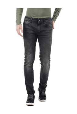 Pepe Jeans Black Slim Fit Lightly Washed Jeans 313cb042b8
